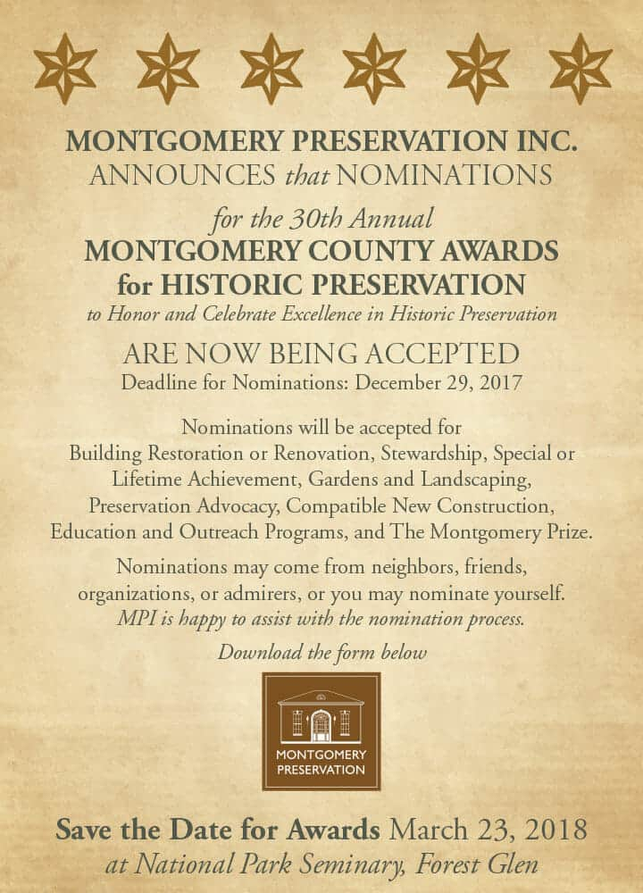 MPI Awards for Historic Preservation